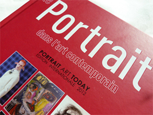 Couverture du livre Portrait Art Today, livre d'art d'édition internationale
